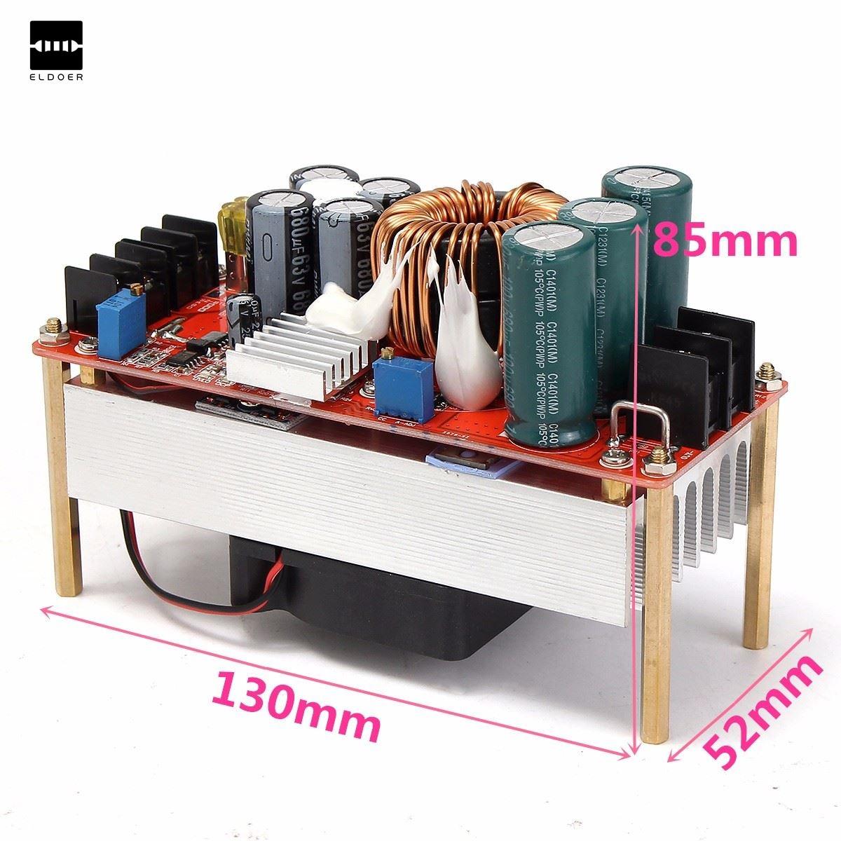 1 шт. 1500 Вт 30A DC повышающий преобразователь Повышающий Питание модуль in10 ~ 60 В из 12 ~ 90 В электрический блок Модули модуль