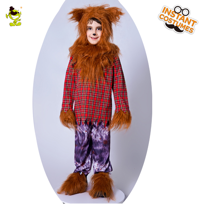 Werewolf Costumes Boys Menacing Wolf Disguise Clothes for Animal Masquerade Party Kids Cute Wolfman Cosplay Sets for Party-in Boys Costumes from Novelty ...  sc 1 st  AliExpress.com & Werewolf Costumes Boys Menacing Wolf Disguise Clothes for Animal ...