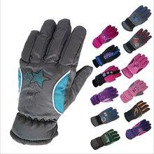5 10Y Kids Winter Warm Gloves Children Boys Girls Ski Cycling Climbing