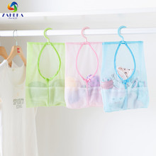 EIEYO 3PCS Multi-function Mesh Net Storage bag Space Saving Hanging Bags Clothes Organizer Holder For Home Helper 3 colors