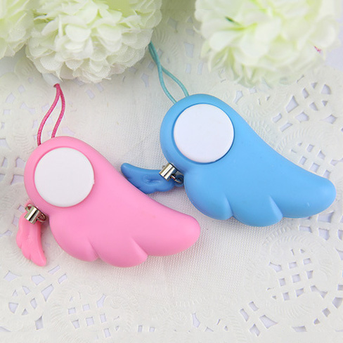 Self Defence Keychain Alarm Personal Protection Women Security Rape Alarm 90dB Loud Self Defense Supplies Emergency Alarm portable cute heart shaped self defense alarm loud keychain alarm personal protection safety anti rape alarm emergency hot sale
