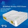 Reino unido/ue/eua broadlink portador de dna 200 m router wi-fi sem fio powerline extensor sem fio inteligente router wi-fi gama extensor de automação