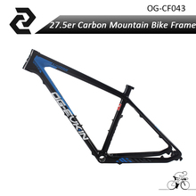FREE SHIPPING carbon 27.5 ER MTB Bike Bicycle Carbon Frame Carbon BB68 light weight road Frame SizeS/M