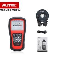 Autel MD802 Maxidiagยอดเต็ม/สี่ระบบOBDIIรหัส