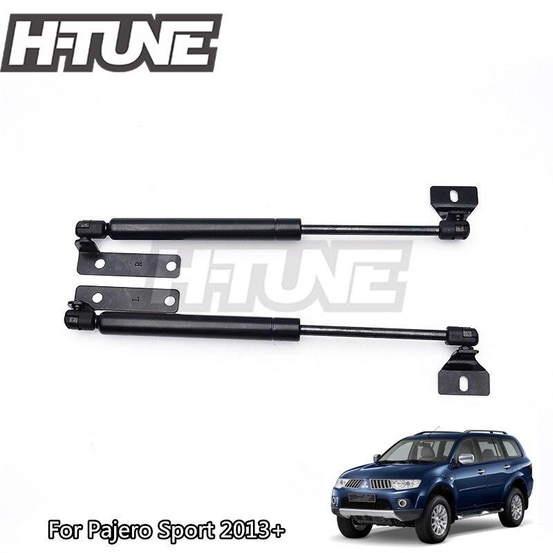 Kits de levage d'amortisseur de gaz de capot de capot avant pour accessoires Pajero Sport 2013 + H-TUNE 4x4