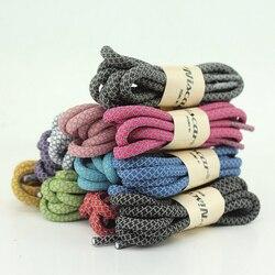 Heißer Verkauf Mode Polyester Paisley Reflektierende Schnürsenkel Ronds Sichtbar Sicherheit Cordon Schnürsenkel 120 cm Minimalem