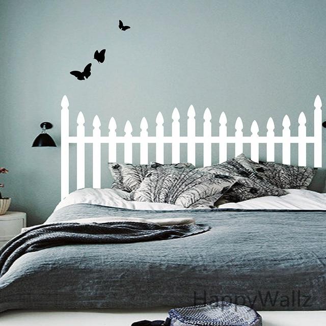Headboard Wall Sticker Bedroom Butterfly Headboard Wall Decal DIY - Wall decals headboard