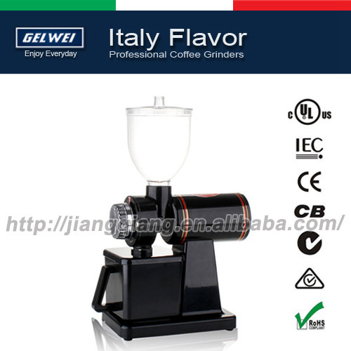 G600NB Automatic electric coffee grinder machine coffee Burr Mill Black Storage Capacity 250g