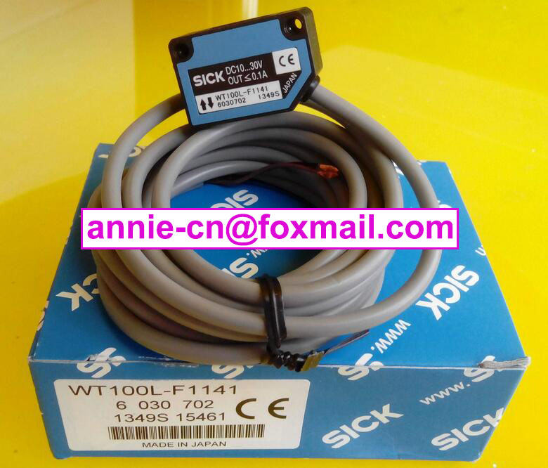 100% New and original  WT100L-F1141 SICK  Laser switch new 100