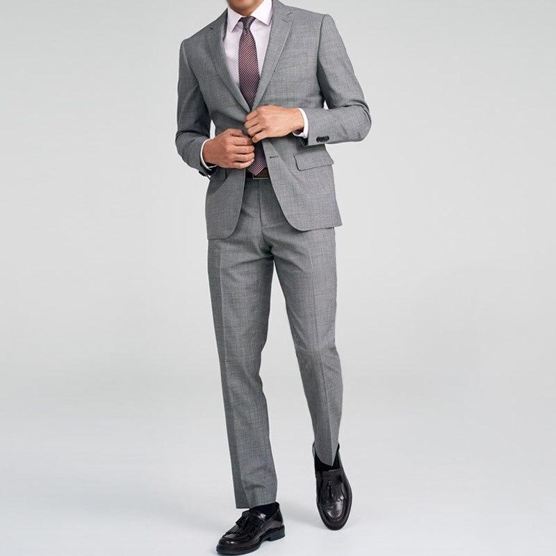 Clever Licht Grau Herren Business Nach Maß Anzüge Skinny100 % Wolle Zugeschnitten Anzug Für Männer Kleine Angepasst Anzüge Nach Anzug Lieferant Zu Den Ersten äHnlichen Produkten ZäHlen