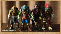 Funko Pop 2018 New Pvc Material Movie Version Of The Ninja Turtle Set Of 4 Can Be Collected Hand action Model Collection Gift