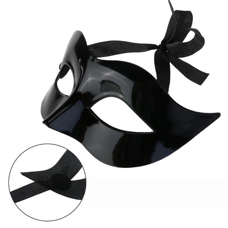 9 Color Women Man <font><b>Sexy</b></font> Gentleman Masquerade <font><b>Mask</b></font> Prom <font><b>Mask</b></font> <font><b>Halloween</b></font> Masquerade Party Cosplay Costume Wedding Decoration Props image