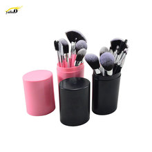 Get more info on the YALIAO 12pcs Pink/Black Makeup Brushes Set Synthetic Hair Foundation Powder Professional Cosmetic Kit Travel Portable Brushes