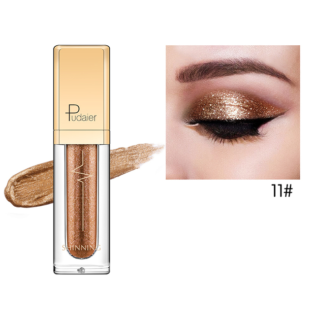 18 Colors Shine Smoky Eyeshadow Waterproof Dimond Glitter Liquid 2