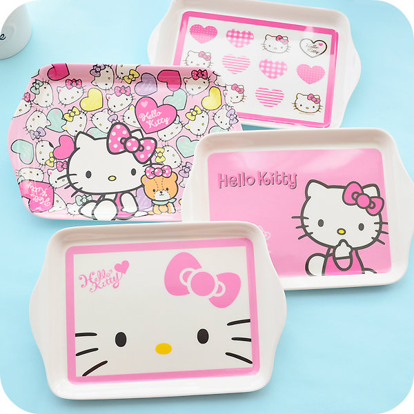 Cute Kitty Cat Fruit Dish.Kid Breakfast Tray.Cartoon Plates Plastic Pallet For Snacks Fruit Cake.Anti shock Children Tableware-in Dishes u0026 Plates from Home ...  sc 1 st  AliExpress.com & Cute Kitty Cat Fruit Dish.Kid Breakfast Tray.Cartoon Plates Plastic ...
