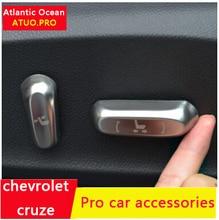AUTO PRO 2015 cruze car styling car seat switch trim car accessories car seat cover knob trim 2014 envision Interior Mouldings