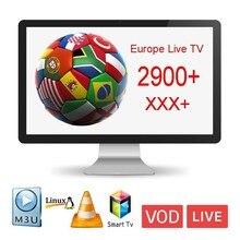 Europe SUBTV 1 year IPTV Subscription Code 2900+ Channels Germany French Spanish Italy Arabic IPTV code M3U Mag Free Test