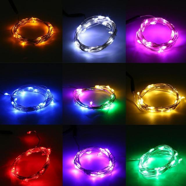 Image result for usb silver wire fairy light