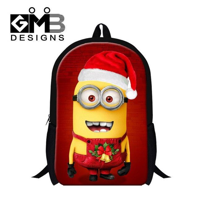 5a8c5d35fa8b Children Cartoon School Bags Kids Yellow Minions Backpack Despicable Me  Students Boys Schoolbag Bolsas Girls Shoulder Book Bags