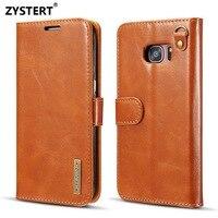 For Samsung Galaxy S7 S7 Edge Case Luxury Super Slim Split Type Style Leather Flip Stand