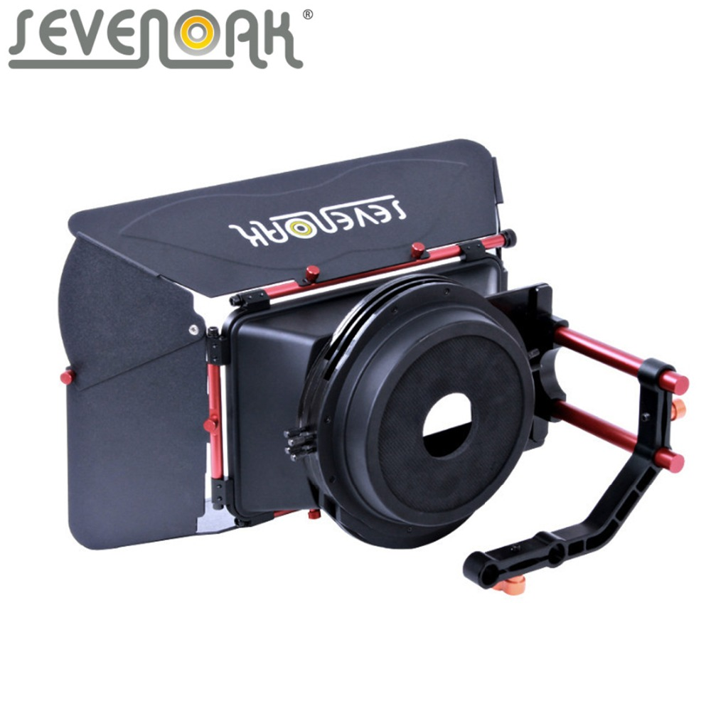 Sevenoak SK-MB01 Matte Box for Gopro Nikon Canon Sony Olympus Pentax Camcorders Film Cameras DSLR Cameras 35mm Lens Adapter