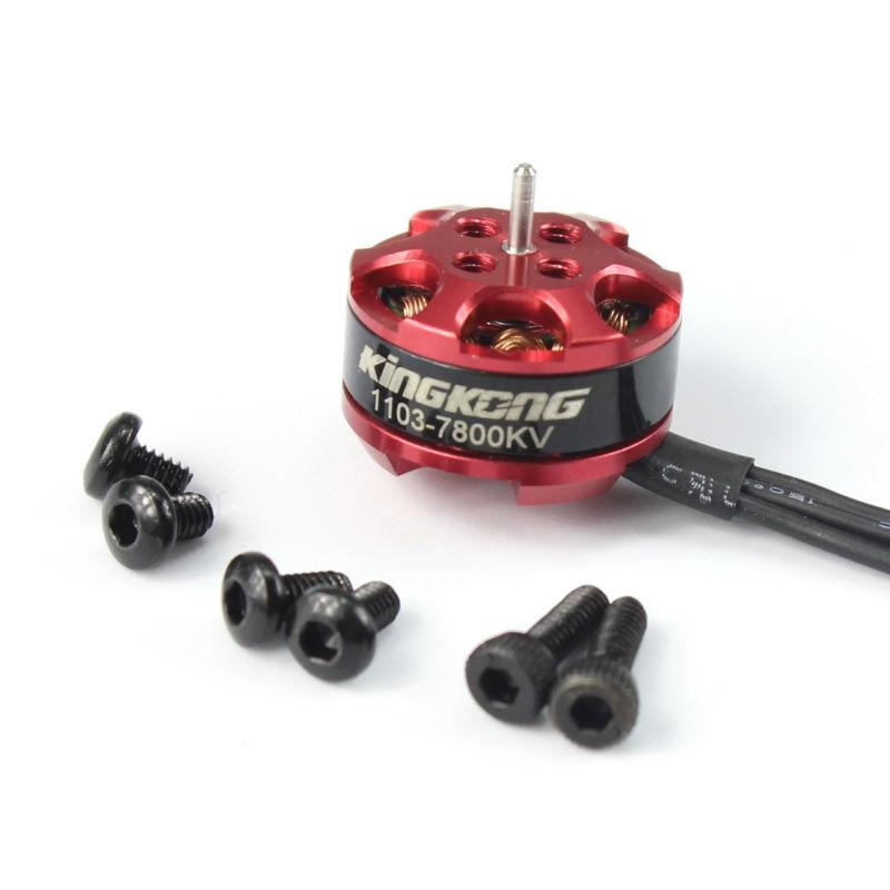 KINGKONG 1103 7800kv Mini Brushless Motor for RC Mini Multirotor Drone for 45mm 65mm 2030 propeller