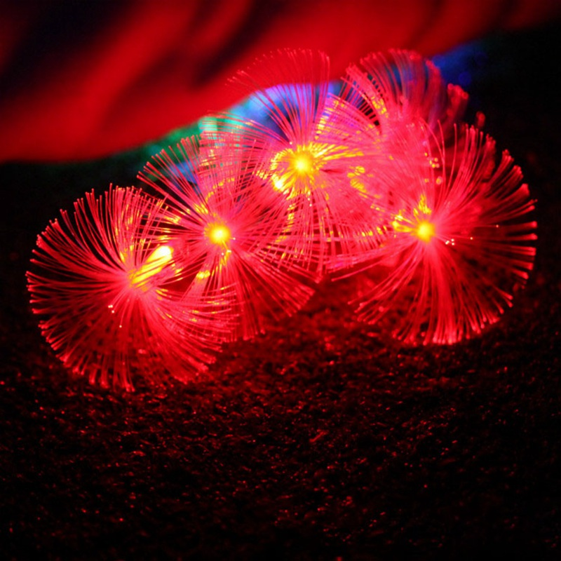 5M 20 LED String Light Flower Dandelion LED Holiday Fairy Light Lamp Christmas Garden Wedding Decoration Waterproof US/EU Plug