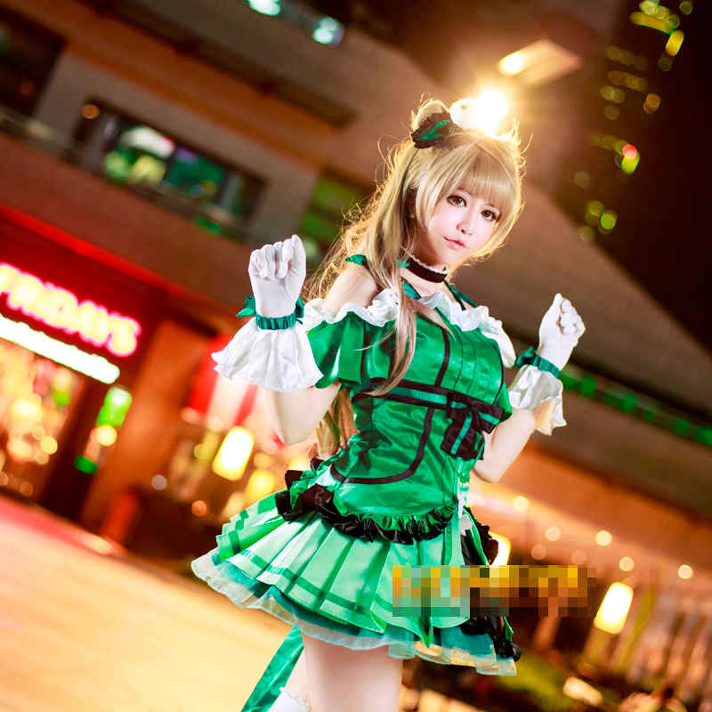 Love Live! Minami Kotori Insert Song Customized Uniforms Cosplay Costume Free Shipping