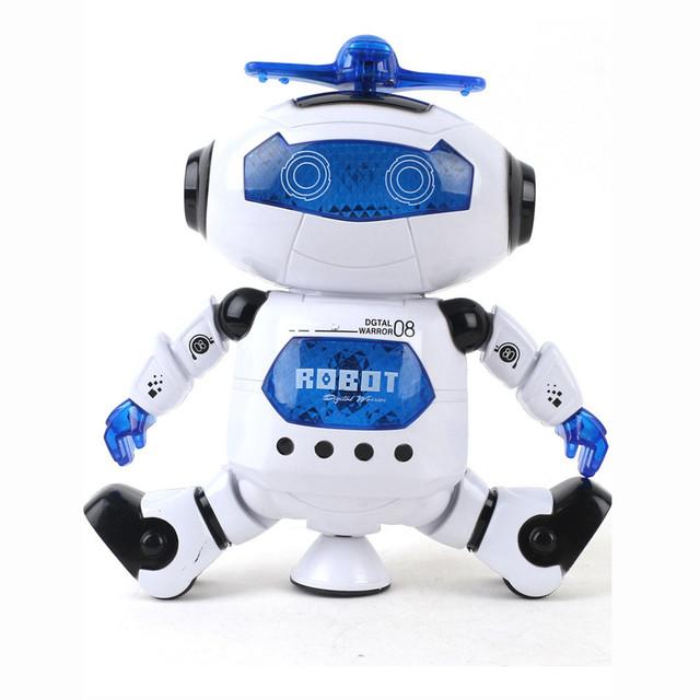 Walking Dancing Smart Space Robot Toys