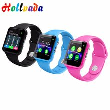 A1 Facebook Smart Watch For Kids Safe Smart Electronics Camera SIM Call Baby Wristwatch Waterproof Gift For Children Smartwatch(China)