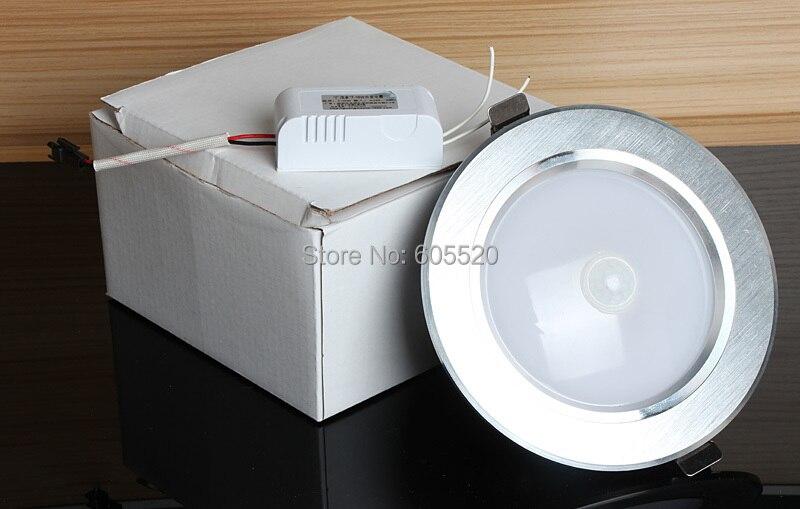 tienda online mejor nuevo barato de movimiento pir downlight negro puerta pasillo escaleras pasillo cocina luz del bao aliexpress mvil