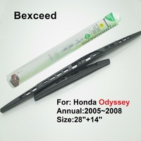 28+14 High Quality Bexceed of Car Windshield Special wiper blade for Honda Odyssey (2005~2008)