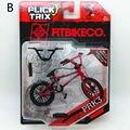 Lo nuevo Finger Flick Trix bici de Bmx PRK3 Diecast Aleación De Níquel Stents Profesional Dedo de La Bicicleta de La Novedad Mini Juguetes