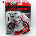 Newest Flick Trix Finger bike PRK3 Bmx Diecast Nickel Alloy Stents Professional Finger Bicycle Novelty Mini Toys