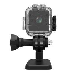 SQ12 Lente Grande Angular À Prova D' Água Mini Câmera HD 1080 P DVR Esporte Video Câmeras de Visão Noturna Registro De Detecção De Movimento Camcorder