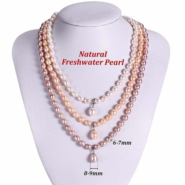5e8ab24d74e2e HENGSHENG AAAA Natural Freshwater Pearl Jewelry Set Fashion/Elegant  Necklace Bracelet Earrings For Women for party/wedding/gift