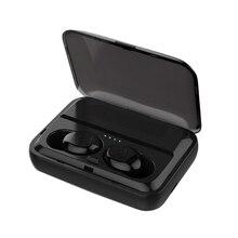 Waterproof Wireless Bluetooth Earphones Headset,F9 Tws Mini True 5.0 Earbuds Earphone In-Ear Noise Reductio