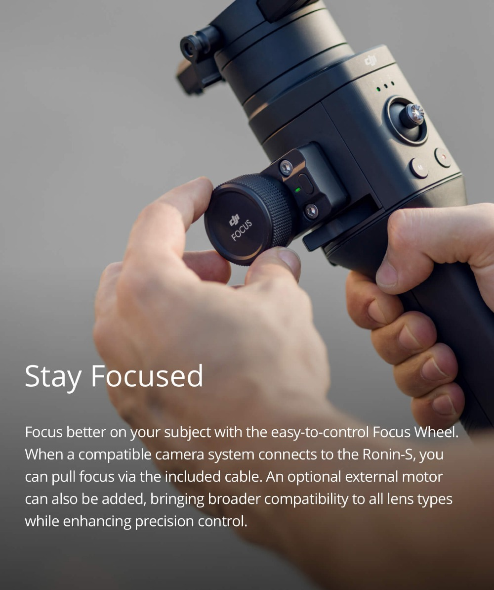 Ronin S Standard Kit and Essentials Kit Superior 3-Axis Stabilization Camera Control Fine Focus Control in stock brand newRonin S Standard Kit and Essentials Kit Superior 3-Axis Stabilization Camera Control Fine Focus Control in stock brand new