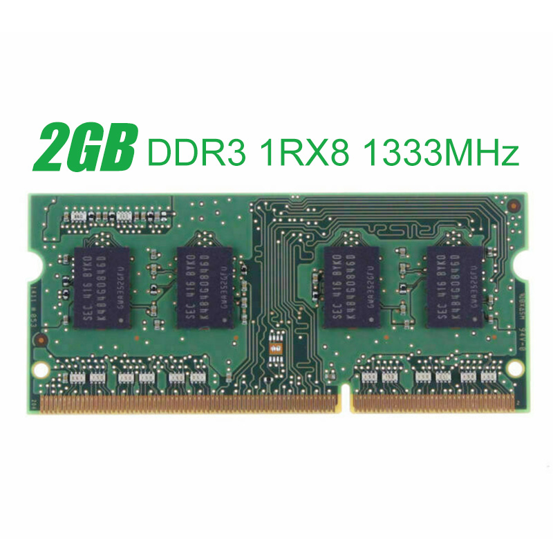 2GB Laptop Memory For <font><b>Samsung</b></font> SODIMM 2GB PC3L-10600S <font><b>DDR3</b></font> 1333MHz Memory Laptop Notebook Module RAM image