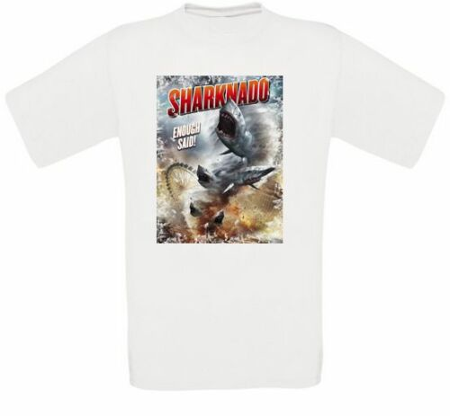 Sharknado Cult Movie T-Shirt all Sizes New image