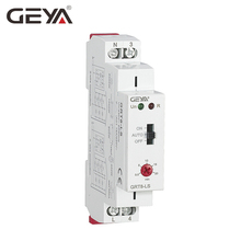 Free Shipping GEYA GRT8-LS Din rail Staircase Switch Lighting Timer Switch 230VAC 16A 0.5-20mins Delay off Relay Light Switch free shipping 1pc high quality epn510 pulse relay self locking relay 230v 1no signal relay 16a switch din rail