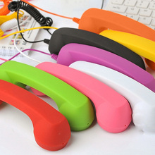 New Fashion Mic Retro Telephone Cell Phone Handset Receivers Fancy Gif