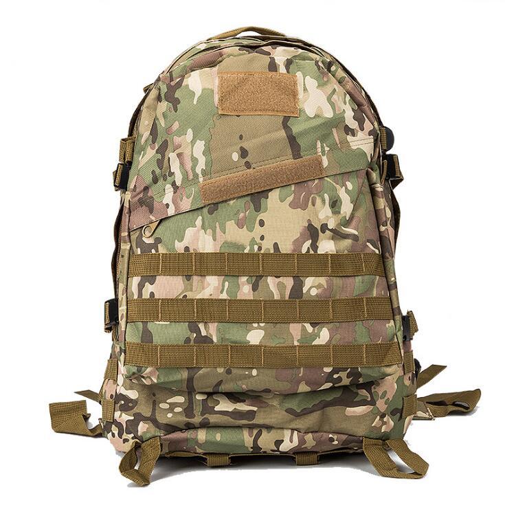 INDEPMAN 야외 스포츠 어깨 가방 남자 군사 전술 배낭 방수 600 D 옥스포드 천으로 하이킹 캠핑 배낭