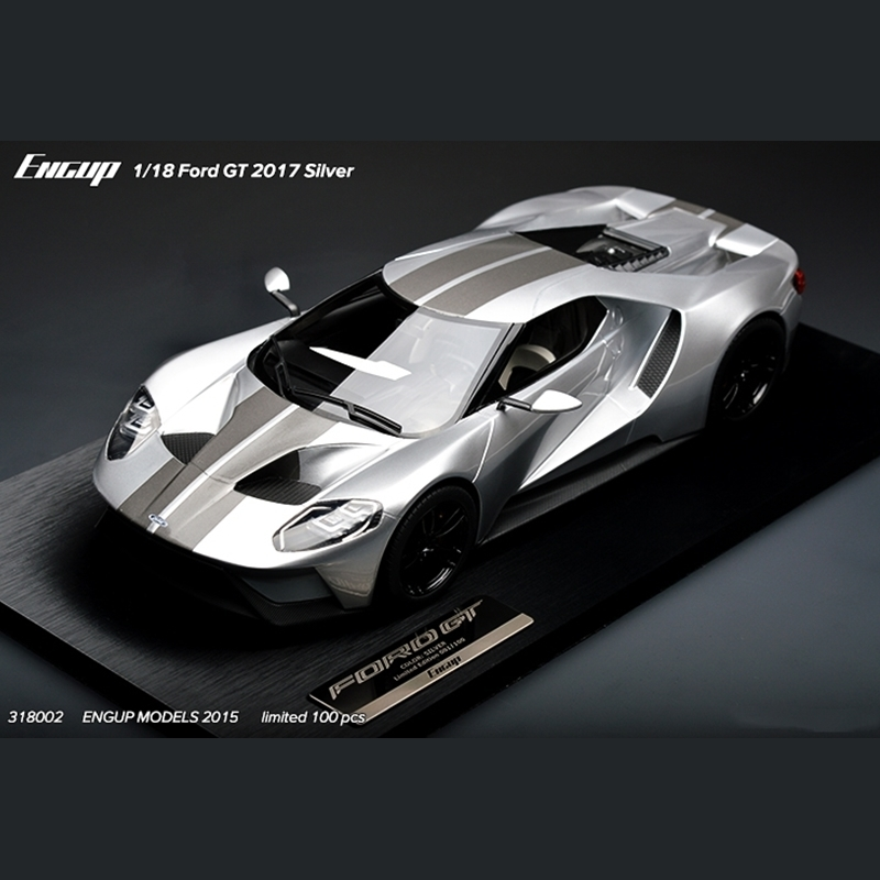Limited 1/18 Ford GT 2017 Fun 3d Metal Diy Miniature Model Kits Puzzle Toys Children Educational Boy Splicing Hobby <font><b>Building</b></font>