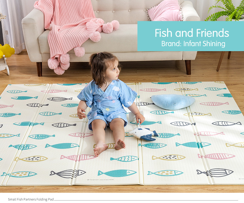 HTB16jaZcqSs3KVjSZPiq6AsiVXaU Infant Shining Baby Play Mat Xpe Puzzle Children's Mat Thickened Tapete Infantil Baby Room Crawling Pad Folding Mat Baby Carpet