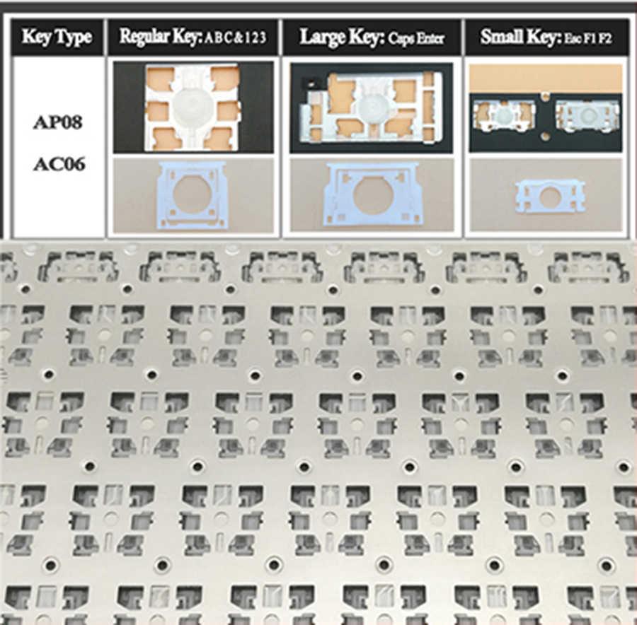 """Nowa szwajcarska szwajcarska klawiatura dla Macbook Pro Retina 13 """"A1502 2013 2014 2015 EMC2678 EMC2875 EMC2835"""
