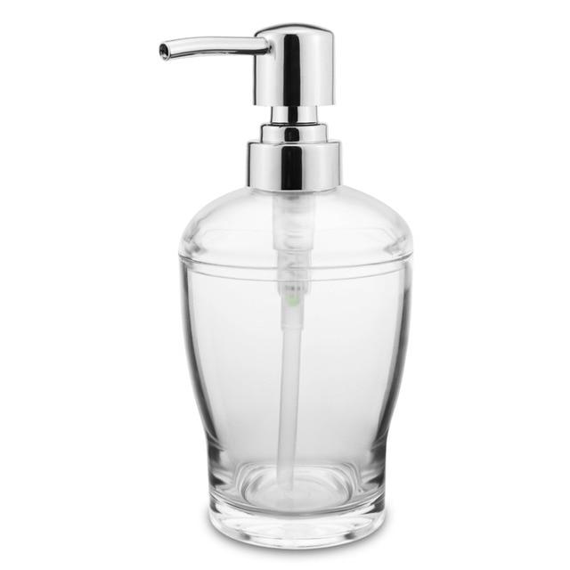 728440135677 US $7.88  ABS Countertop Lotion Dishwashing Liquid Soap Dispenser Pump  Bottle Kitchen or Bathroom 12 OZ (2 color)-in Liquid Soap Dispensers from  Home ...