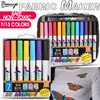 Bianyo 7 13 Colors Fabric Textile Marker Watercolor Sketch Pen Set For Artist T Shirt Painting