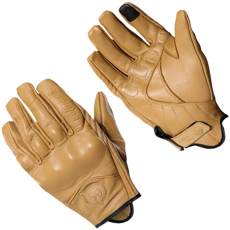 2018 Retro Motorcycle Gloves Cow Leather Full Finger Men Women Motocross Racing Glove Motorbike Protective Gears Brown недорого