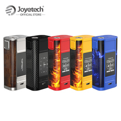 Original Joyetech Cuboid TAP Mod in Power/Clock/Temp/TCR/USB Charge Box Mod Output 228W 2 inch Screen Electronic Cigarette